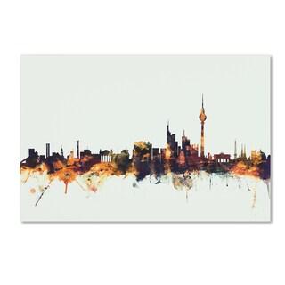 Michael Tompsett 'Berlin Germany Skyline' Canvas Art