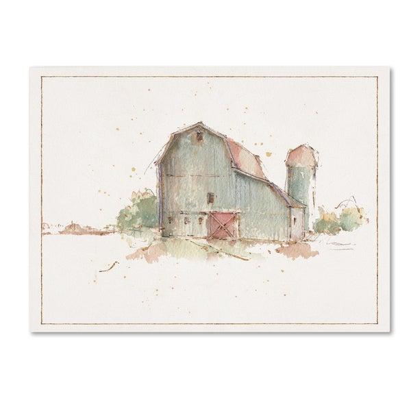 Lisa Audit 'Farm Friends XIV Barn' Canvas Art