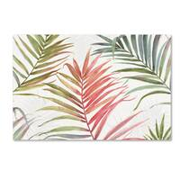 Lisa Audit 'Tropical Blush IV' Canvas Art