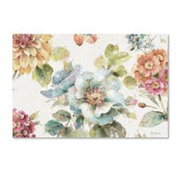 Lisa Audit 'Country Bloom I' Canvas Art