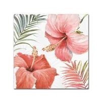 Lisa Audit 'Tropical Blush III' Canvas Art