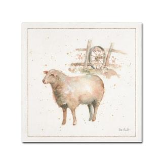 Lisa Audit 'Farm Friends X' Canvas Art