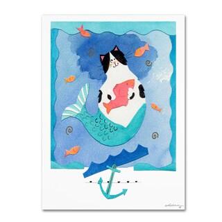 Whiskers Studio 'Mermaid Cat 1' Canvas Art