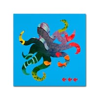 Whiskers Studio 'The Octopus' Canvas Art