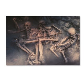 Erik Brede 'Necropolis' Canvas Art