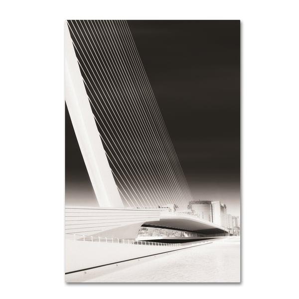Erik Brede 'Pont Or' Canvas Art