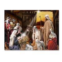 The Macneil Studio 'Nativity' Canvas Art