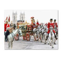 The Macneil Studio 'Queens Carriage' Canvas Art