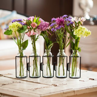 Six Tube Hinged Vase Free Shipping On Orders Over 45 Overstock Com 11384201