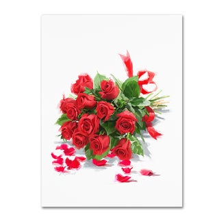 The Macneil Studio 'Red Roses' Canvas Art
