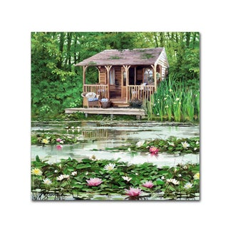The Macneil Studio 'The Old Boathouse' Canvas Art
