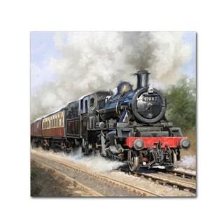 The Macneil Studio 'Steam train Square' Canvas Art
