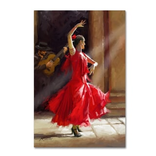 The Macneil Studio 'Flamenco' Canvas Art