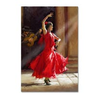 The Macneil Studio 'Flamenco' Canvas Art