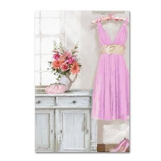 The Macneil Studio 'Pink Dress' Canvas Art