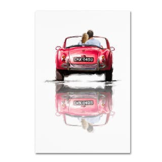 The Macneil Studio 'Couple In Car' Canvas Art