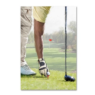 The Macneil Studio 'Golf Player' Canvas Art
