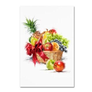 The Macneil Studio 'Fruit Basket' Canvas Art
