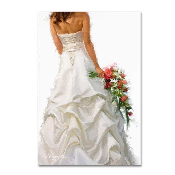 The Macneil Studio \'Bridal Dress\' Canvas Art - Free Shipping On ...