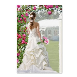 The Macneil Studio 'Bride' Canvas Art