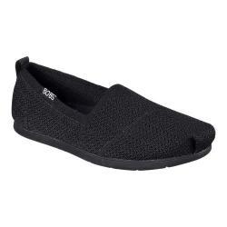 Women's Skechers BOBS Plush Lite Custom Built Alpargata Black