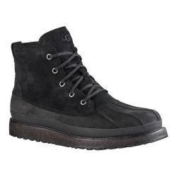 Men's UGG Fairbanks Ankle Boot Black Leather/Suede