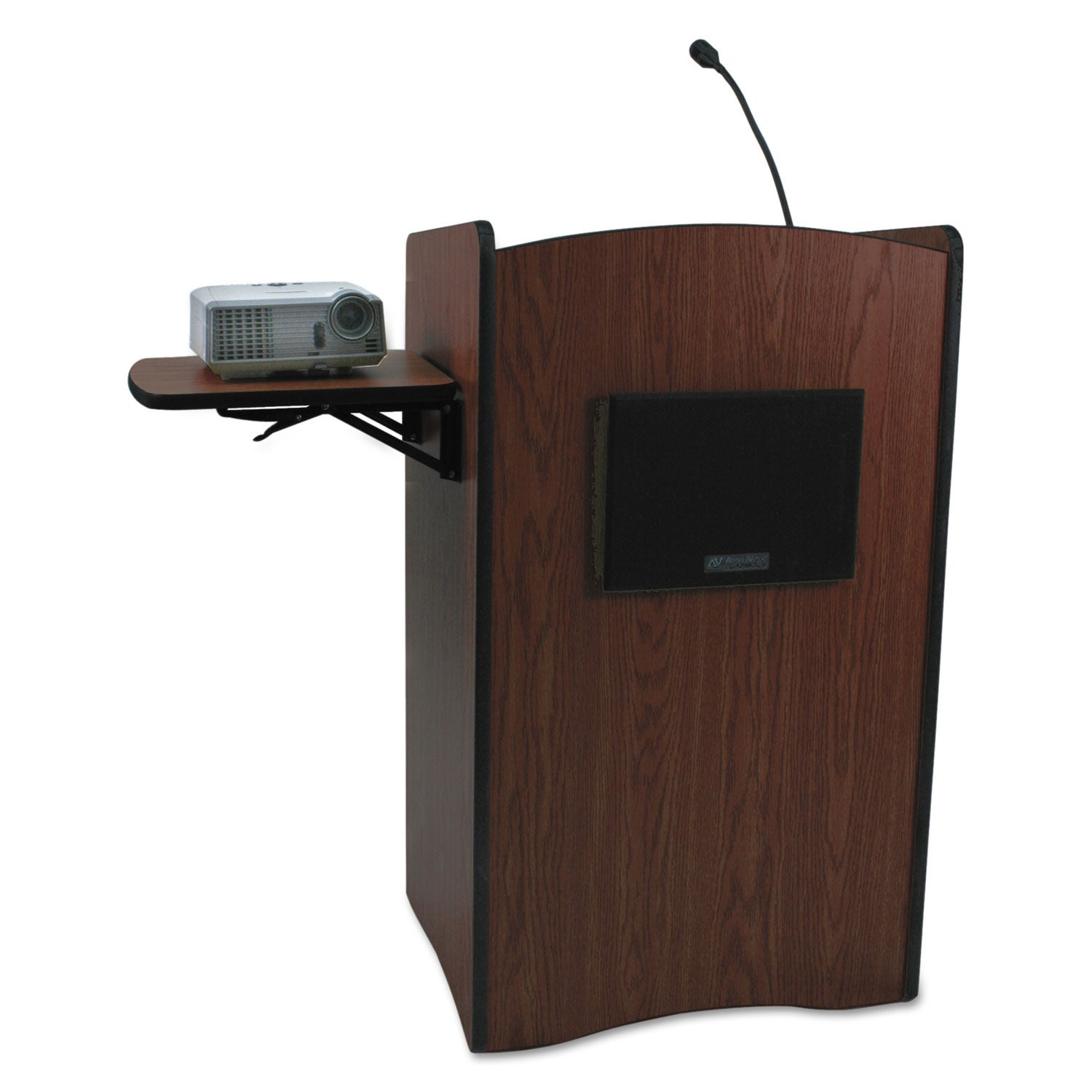 AmpliVox SS3230 - Multimedia Computer Lectern with Sound System