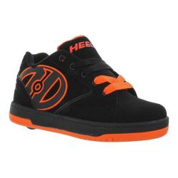 Children's Heelys Propel 2.0 Black/Bright Orange