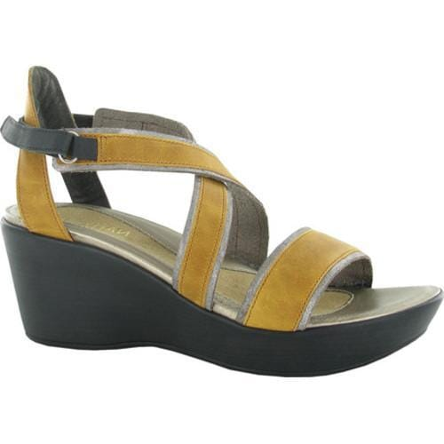 14e55d5b07 Shop Women's Naot Gesture Wedge Sandal Oily Dune Nubuck/Silver Thread/Khaki  Beige Leather - Free Shipping Today - Overstock - 14022680