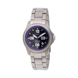 Women's Momentum Watch Heatwave Stainless Steel Watch Purple/Stainless Steel