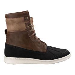 Men's UGG Roskoe Ankle Boot Dark Chestnut Leather/Suede