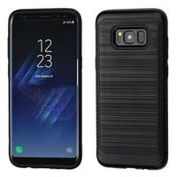 Insten Hard Snap-on Dual Layer Hybrid Brushed Case Cover For Samsung Galaxy S8