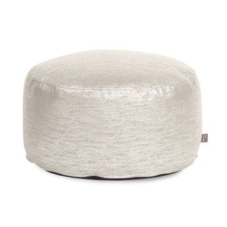 Glam Sand Foot Pouf