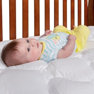 eLuxury Supply Toddler and Crib Mattress Pad
