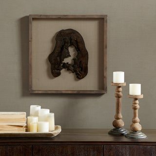 Madison Park Signature Grove Natural Faux Wood Decor - Solid