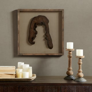 Madison Park Signature Grove Natural Faux Wood Decor - Point Down