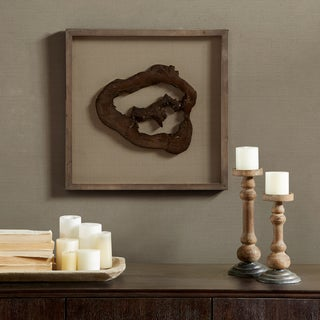 Madison Park Signature Grove Natural Faux Wood Decor - Hollow