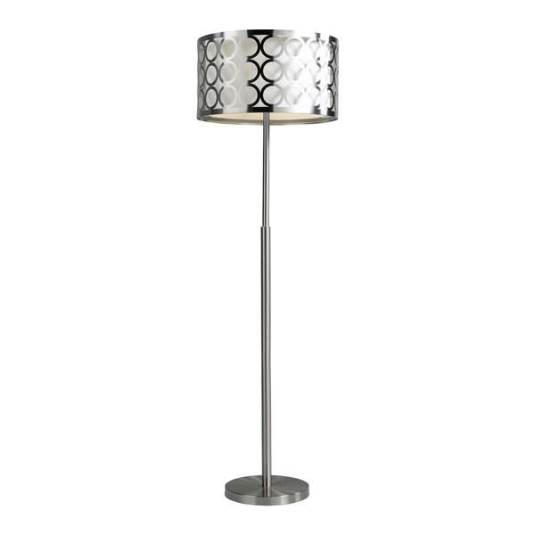 Brassex 16411 60'' Metal Floor Lamp