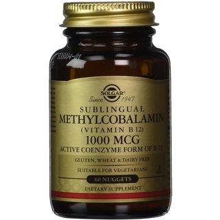 Solgar Methylcobalamin Vitamin B12 1000 mcg (60 Tablets)