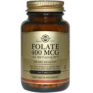 Solgar Folate 400 mcg (100 Tablets)