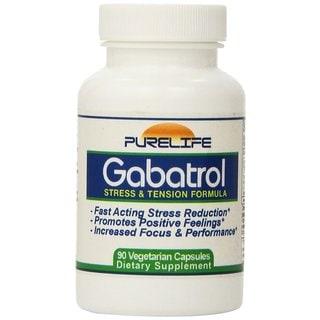 Pure Life Gabatrol Stress & Tension Formula (90 Capsules)