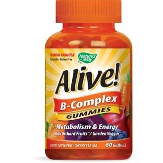 Nature's Way Alive! Vitamin B-Complex (60 Gummies)