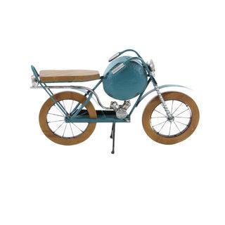 Classic Metal Wood Motorcycle Miniature
