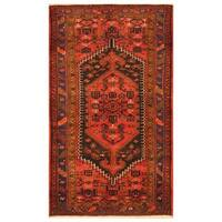 Handmade Herat Oriental Persian Tribal Hamadan Wool Rug (Iran) - 4'9 x 8'