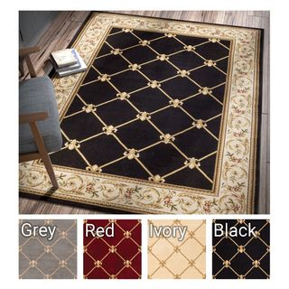 Well Woven Agra Royal Trellis Area Rug (7'10 x 10'6 )