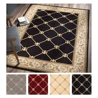 Well Woven Agra Royal Trellis Area Rug - 5'3 x 7'3