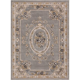 Well Woven Agra Traditional French Country Aubusson Floral Mansion Area Rug - 11' x 15' (More options available)