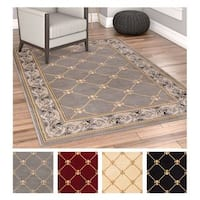 Well Woven Agra Royal Trellis Mansion Area Rug - XL