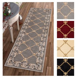 "Well Woven Agra Royal Trellis Rug - 2'8"" x 12' (3 options available)"