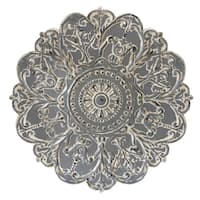 The Curated Nomad Lotta Grey Medallion Wall Decor
